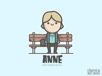 Anne (Dame Penelope Wilton) from After Life