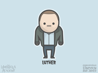 Luther Hargreeves (Tom Hopper) from The Umbrella Academy
