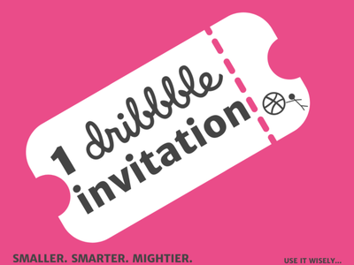 The Power of a Dribbble Invitation logitechinspired playoff rebound useitwisely invitation keepitmini keepitsimple minibudget canva