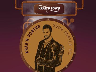 Krak'n Town House Beer