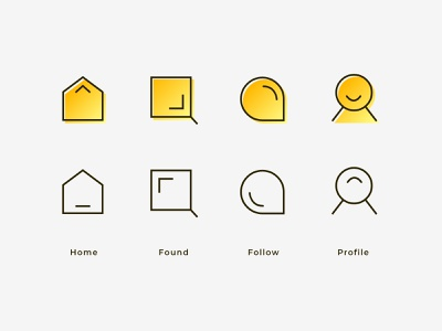 Tab Bar Icon Vol.2 iconography tab bar icons tab bar icon tab bar icons set icons pack icon set iconset icons icon design icon