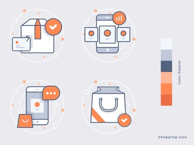Shopping Icon illustraion shopping illustration shopping shopping icons shopping icon iconography icons set icons pack icon set iconset icons icon design icon