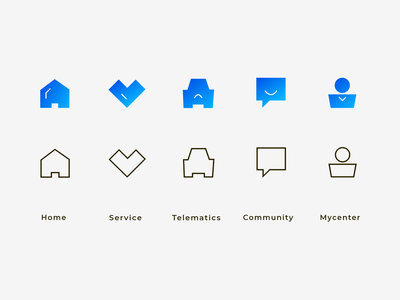 Tab Bar Icon Vol.3 iconography icons set icons pack icon set iconset icons icon design icon
