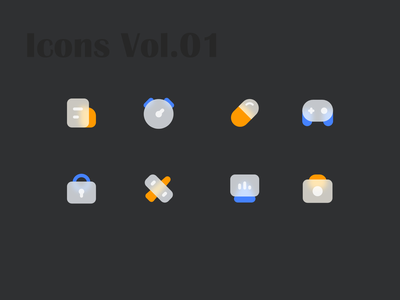 Icons Vol 01 logo iconography icons set icons pack icon set iconset icons icon design icon