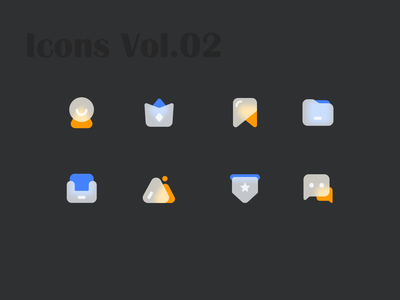 Icons Vol 02 logo iconography icons set icons pack icon set iconset icons icon design icon