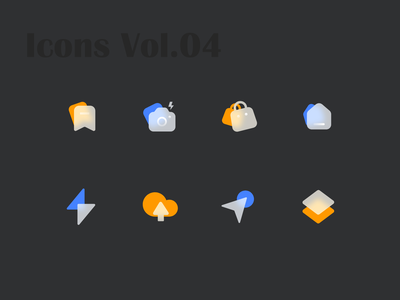 Glossy Icons Vol.04 glossy icon app glossy icons glossy icon iconography icons set icons pack icon set iconset icons icon design icon