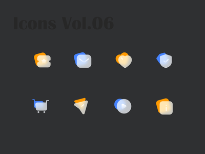 Glossy Icons Vol.06 glossy icons iconography icons set icons pack icon set iconset icons icon design icon