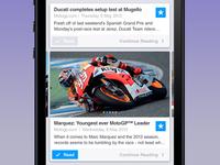 MotoGP News for iOS