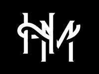H_M monogram mark lockup