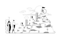 Strategic planner website illustration