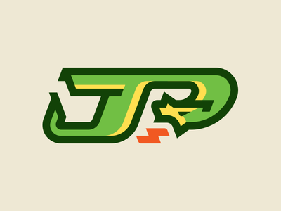 James Plant Race Cars, Redo blalock rebound fire dragon monogram logo