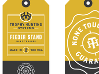 Trophy Hunting Systems hang tag