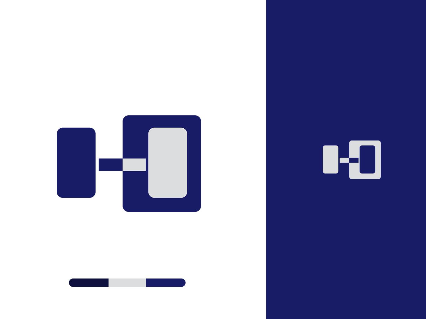 Hubb Fitness Branding ID illustration design logo branding and identity