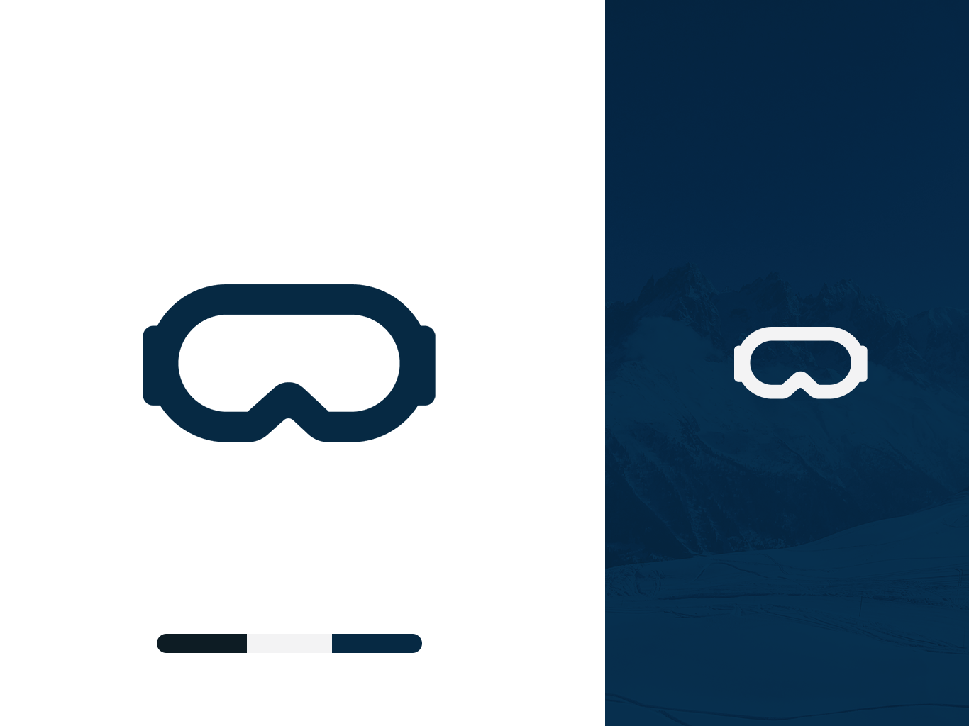 """G0ggle"" Mark Concept design vector illustration icon branding and identity"