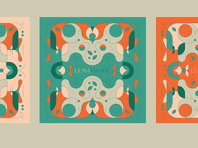 Bohemian Home Decor bohemian linework linear boho logo illustrator icon flat branding vector illustration design