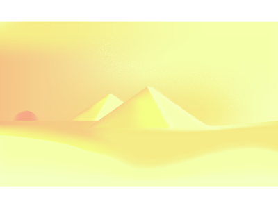 Pyramids illustration flat vector