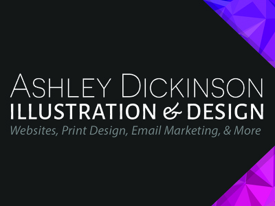 Business Card (Front) typography color print business card