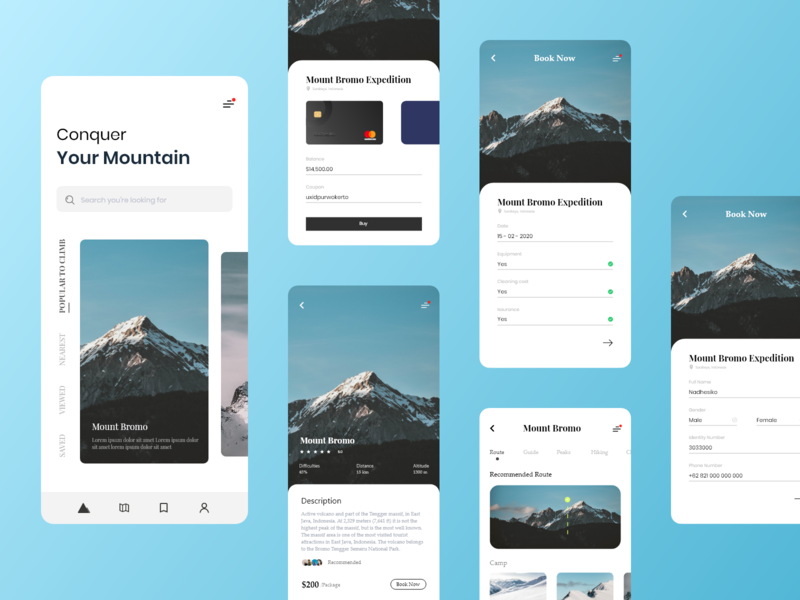 Mountain Expedition App