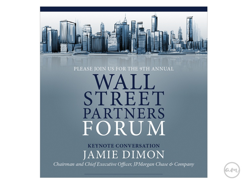 Council of Urban Professionals Wall Street Forum design