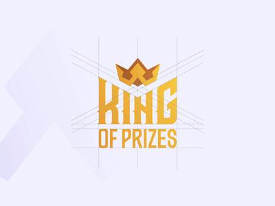 King Of Prizes Branding ecommerce agency animation motion design print webdesign outline2design branding typography vector illustration logo