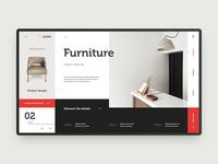 A furniture store concept