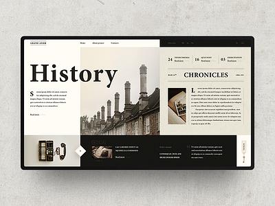 England History history ux ui design webdesign outline2design o2d concept