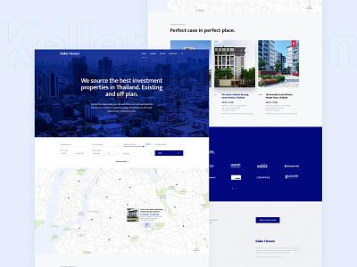 Keller Henson Homepage agency webdesign outline2design o2d design ux ui