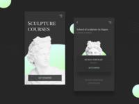 Mobile app Sculpture Courses