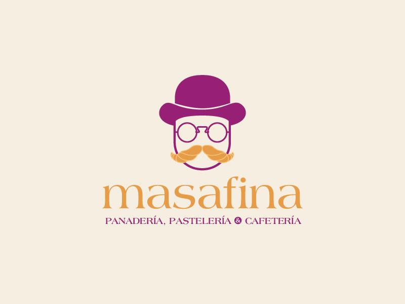 Masafina icon coffee shop packaging logo branding brand
