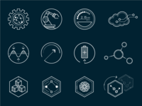 GE Software Concept icons