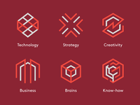 Design Agency Icon Set