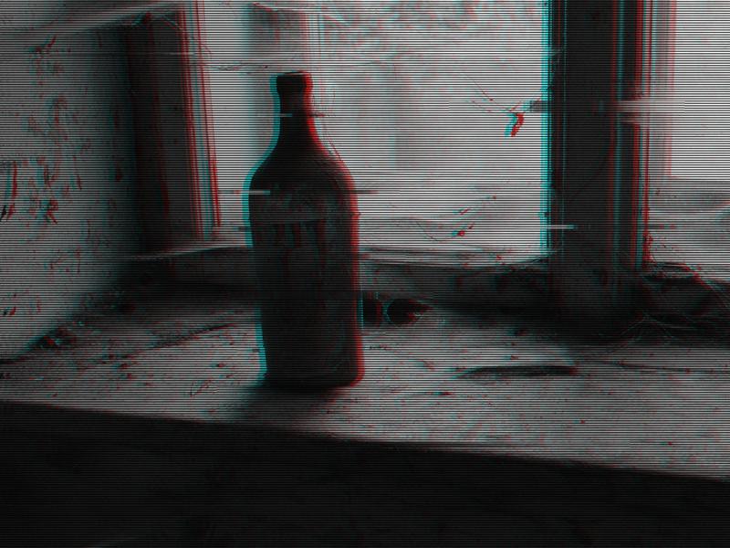 Old house glitch effect adobe photoshop photoshop glass old glitch art glitch effect glitch