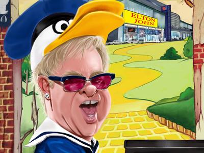 Elton John Farewell Yellow Brickroad Tu