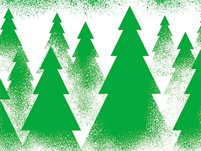Holiday Illustrations - Trees