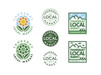 Thursday Local Market Logo Options