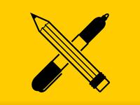 Pencil × Sharpie