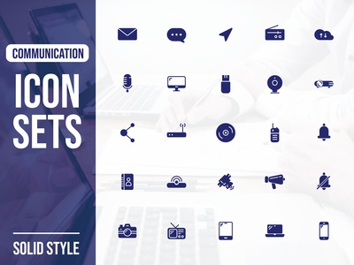 Icon Sets : Communication