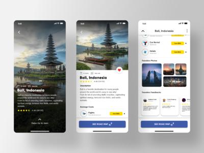 User Interface Design - Travel Guide Exploration