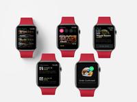Watch Design _ Food App