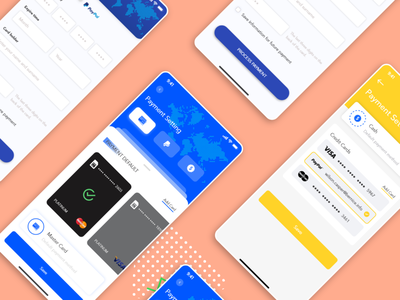 Different Payment Mode _ iOS Redesign mastercard paypal mode of payment payment app payment form error payment gateway vector typography ux digital art design photoshop illustration colour adobexd ui