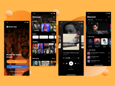 Music App - iOS