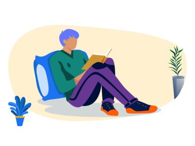 Reading _ Illustration