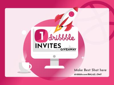 Invitation _Dribbble