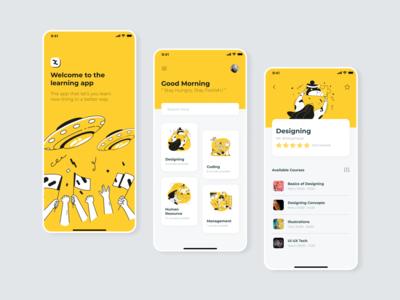 Learning App _iOS