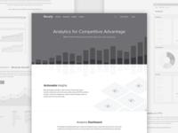 Recurly Analytics Wireframes