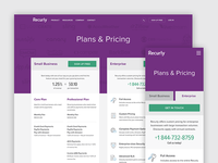 Recurly Plans & Pricing