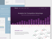 Recurly Analytics Page