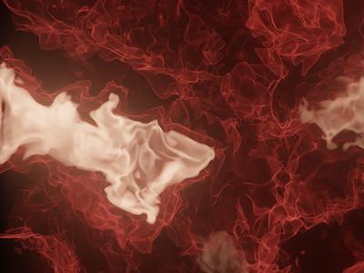 Red nebula background sci-fi colorful blender 3d
