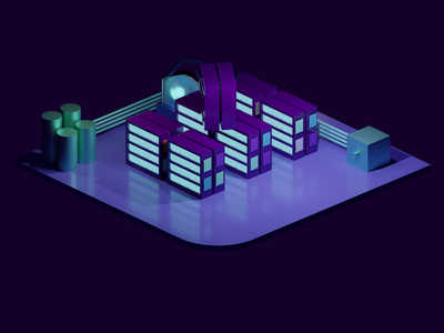 Clear your history decoration lowpoly cyan purple erlend firefox chrome history add-on sci-fi design colorful blender 3d