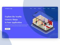 Website Banner - Grocery Shop